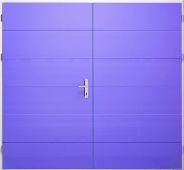 Houten openslaande garagedeur Type HGV52