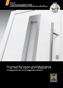 Brochure ThermoPro voordeuren
