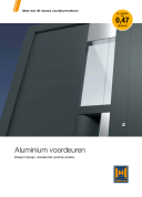 Brochure ThermoSafe en ThermoCarbon voordeuren