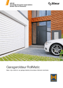 Brochure downloaden Garageroldeuren RollMatic