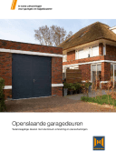 Brochure downloaden Openslaande garagedeuren