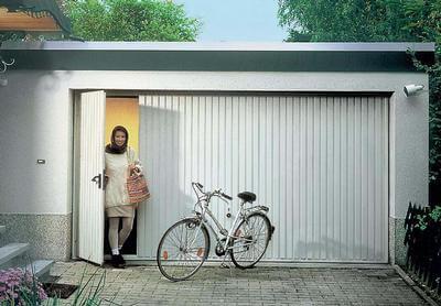 garage kanteldeuren met loopdeur
