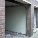 voorbereiding geleiding sectionaaldeur