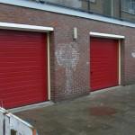 seriematig sectionaaldeur vervangen