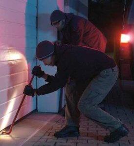 Hörmann deuren zijn veilig tegen inbrekers