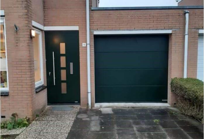dit is de nieuwe voordeur